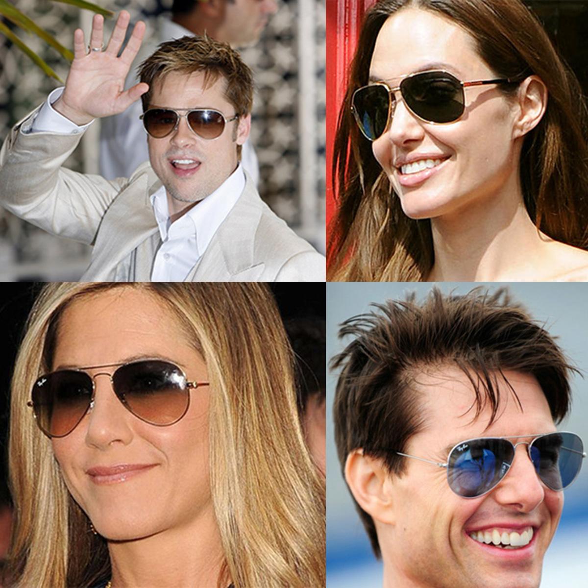 ade25a6a5 Os óculos de sol Ray Ban são uma marca usada por muitos famosos!
