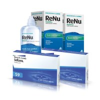 Soflens 59 (Cx 6) x2 + Renu Multiplus 360ml x2