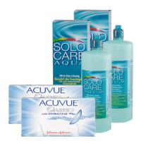 acuvue oasys 12x2 + solo care 360 ml x 29